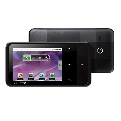 Creative ZEN Touch 2 8GB Черный