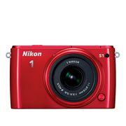 Nikon 1 J1 Two-Lens Kit красный