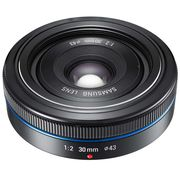 "Samsung 30mm NX объектив-""блинчик"""